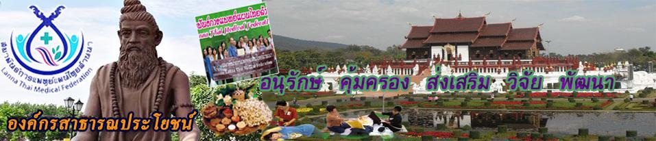 สมาพันธ์การแพทย์แผนไทยล้านนา
