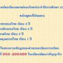 เรียนแพทย์แผนไทย ปีการศึกษา 2561